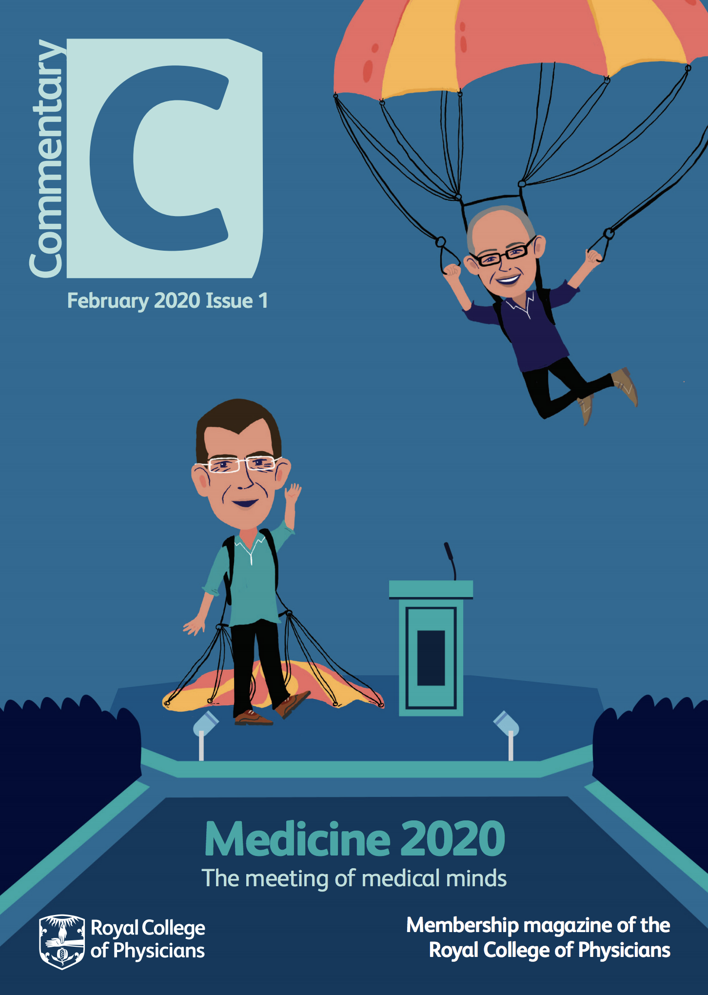 Front cover of Commentary magazine