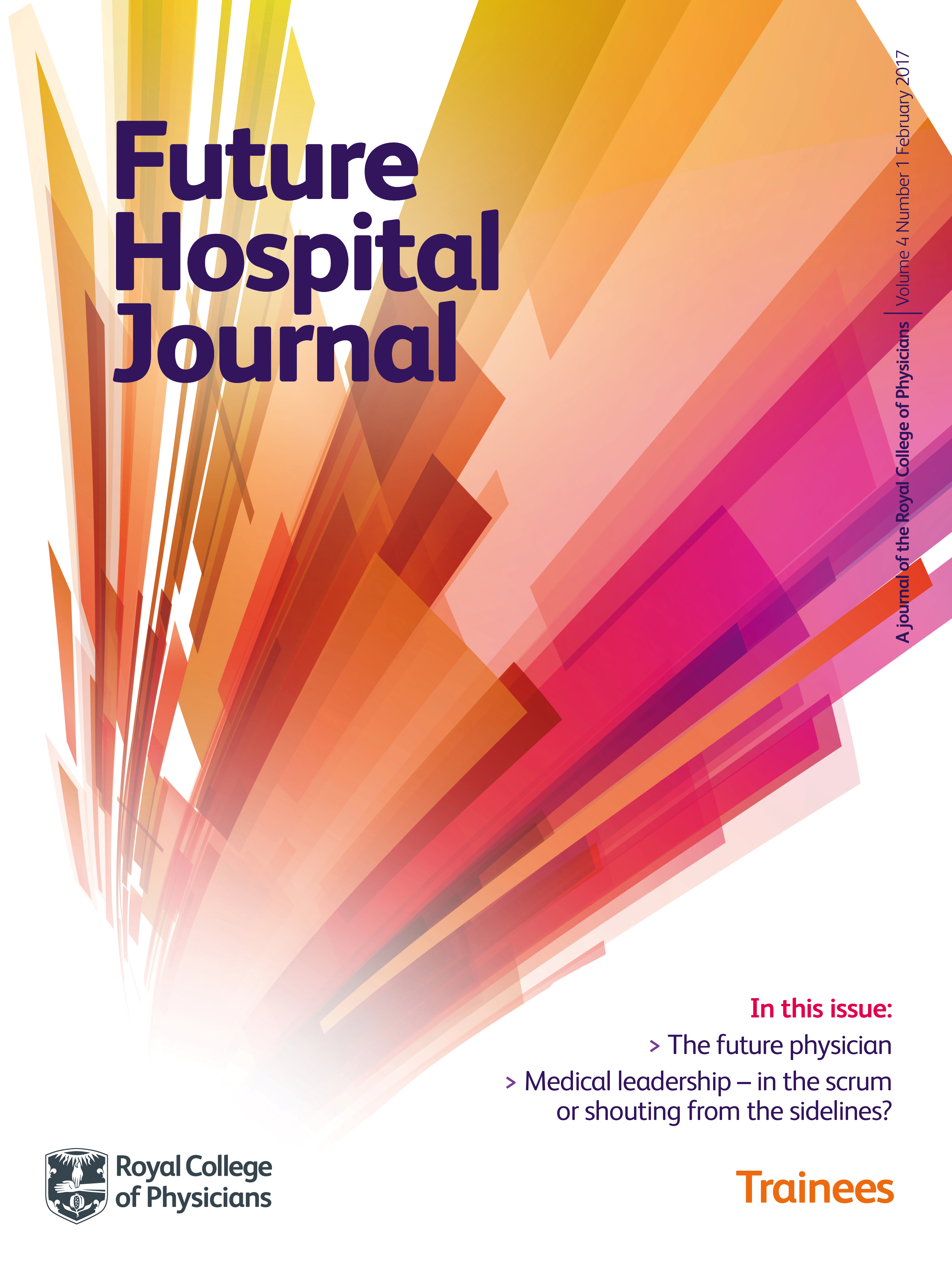 Future Hospital Journal front cover