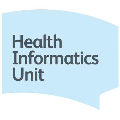 Health Informatics Unit speech bubble graphic