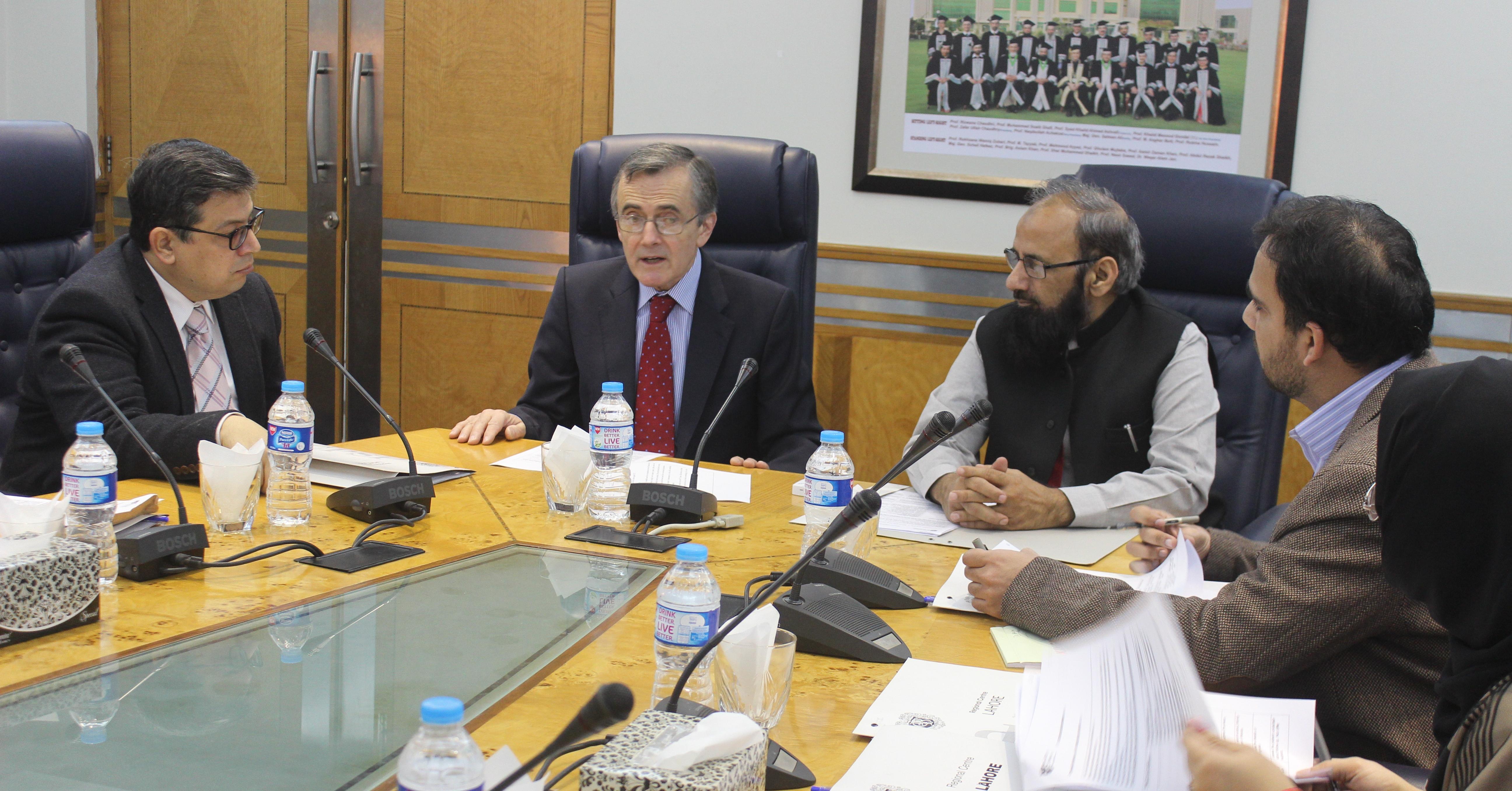 MTI interviews in Pakistan, March 2016