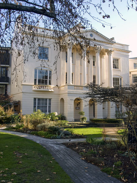 Outside view of William Harvey House
