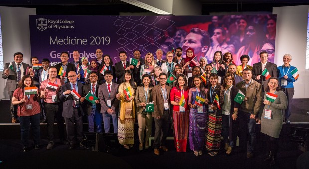 Doctors from across the globe at Medicine 2019
