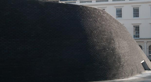 Bricked exterior of the Wolfson Theatre