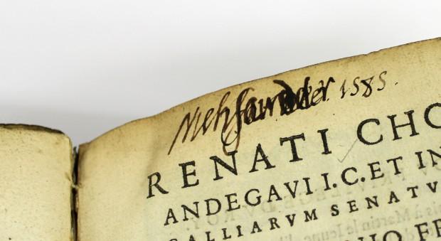 De domanio Franciae. René Choppin, published Paris, 1574.