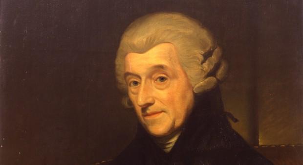 Oil painting of William Heberden