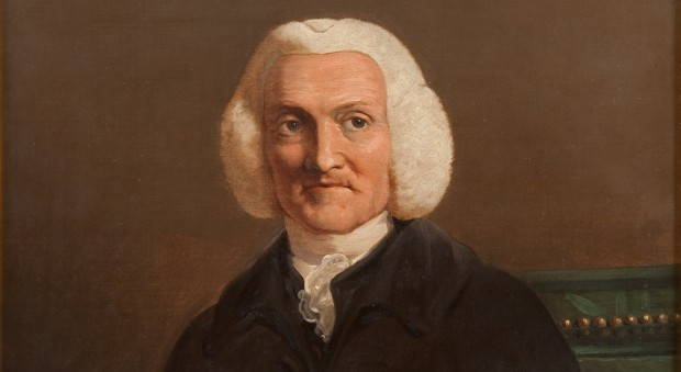 Portrait of William Hunter by James Barry