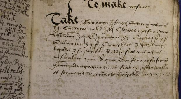 17th century recipie for perfume