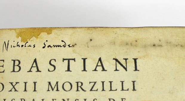 De naturae philosophia. Sebastián Fox Morcillo, published Paris, 1560.