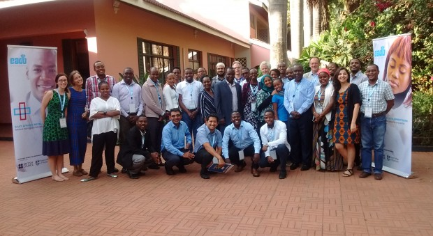 Participants and training faculty in Moshi