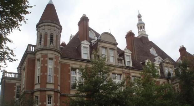 The former Mount Vernon hospital, Hampstead