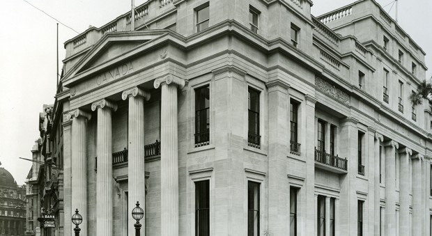 The RCP building at Pall Mall East.