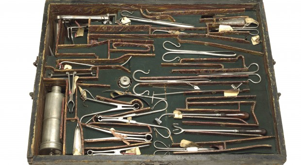 The Prujean chest of surgical instruments