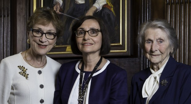 The three female RCP presidents standing together