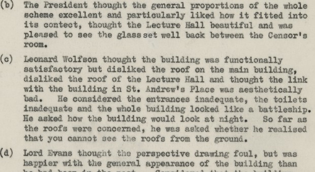 Leonard Wolfson quote about the RCP building