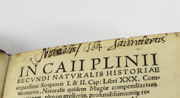 In Caii Plinii Secundi Naturalis historiae. Walter Ryff, published Würzburg, 1548.