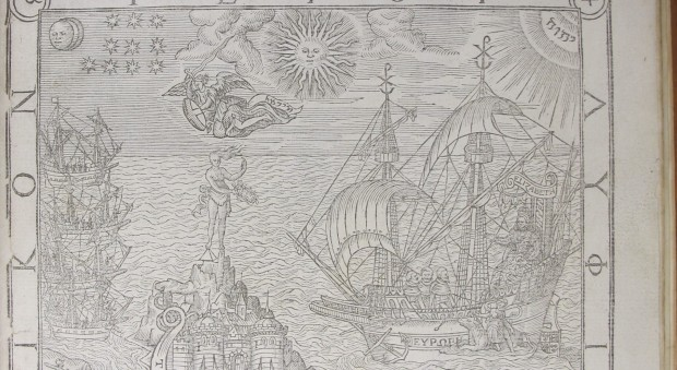 General and rare memorials pertayning to the Perfect Arte of Navigation. John Dee, published London, 1577