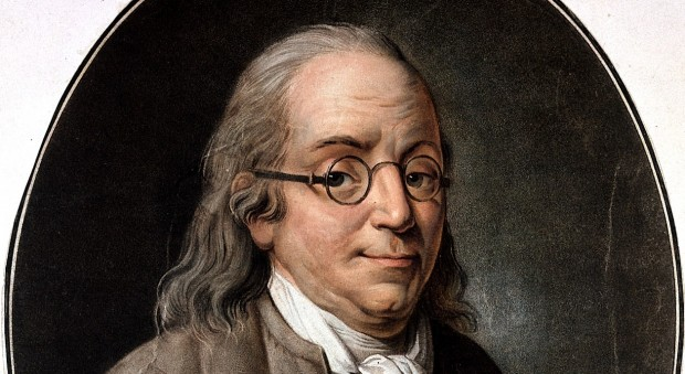 Colour portrait of a man with glasses