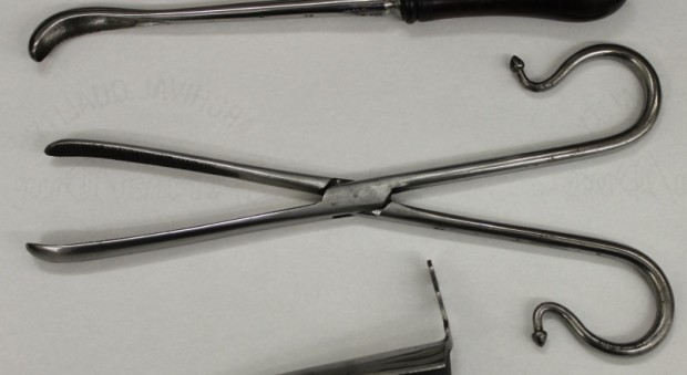 17th century lithotomy instruments from the Prujean chest of surgical instruments