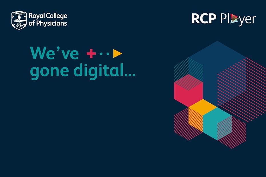 We've gone digital logo