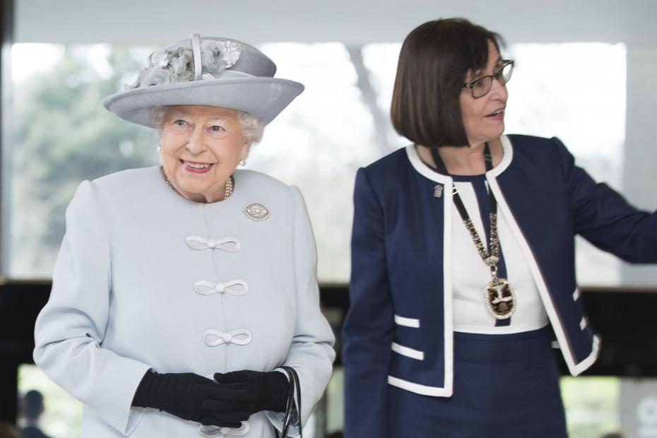 The Queen and Professor Jane Dacre