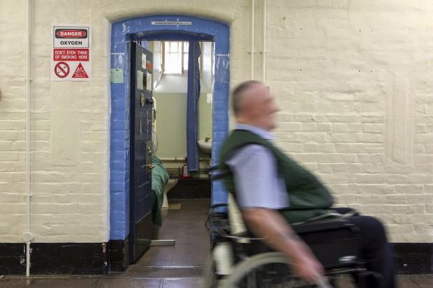 A disabled prisoner at HMP Wandsworth