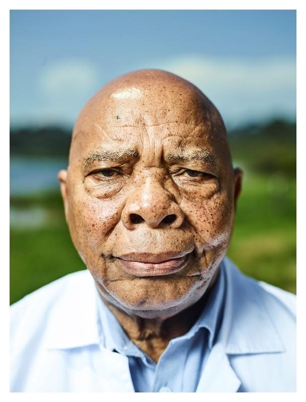 Portrait of Professor Njelesani