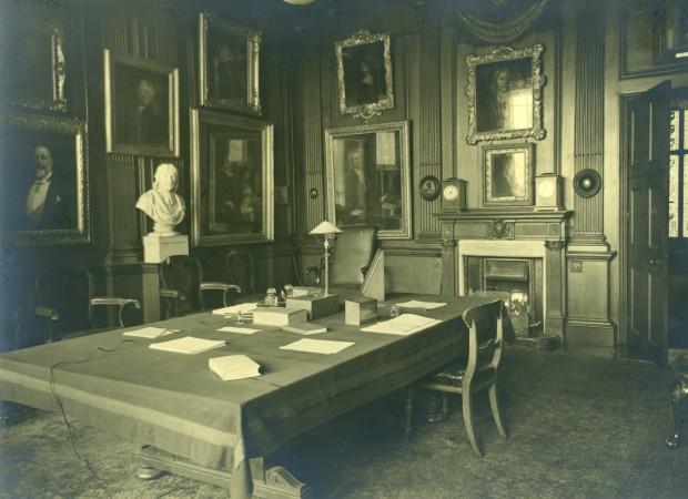 Photograph of the Censors Room, Trafalgar Square