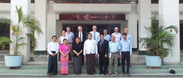 UK and local faculty outside the University of Medicine, Mandalay