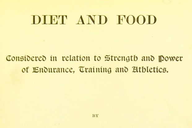 Title page of Alexander Haig's 'Diet and food'