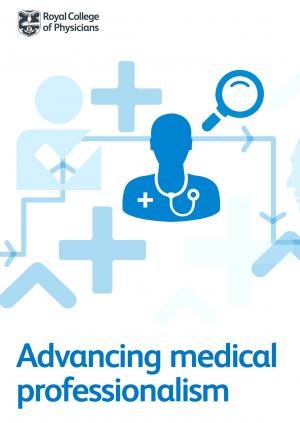 Advancing medical professionalism report front cover