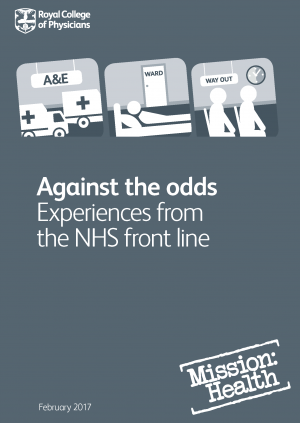 Against the odds report – front cover