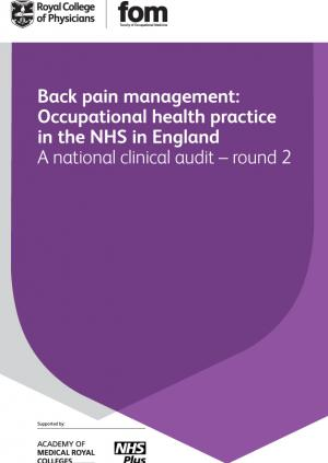 Back pain management audit 2012 - round 2