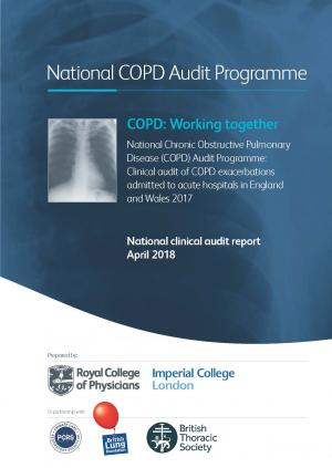 COPD: Working together – clinical audit 2017 | RCP London