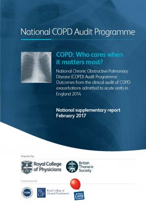 COPD: Who cares when it matters most? – report front cover