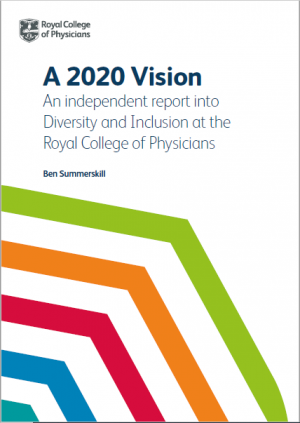 Diversity and inclusion report cover