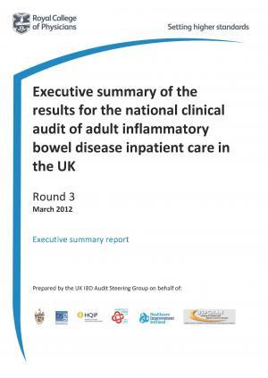 IBD inpatient care audit - Adult report - round three 2012