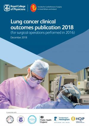 Report front cover showing a surgeon operating on a patient