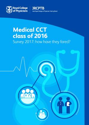 Report front cover - 'Medical CCT class of 2016'