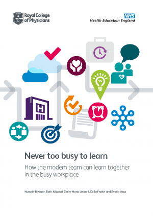 'Never too busy to learn' report cover