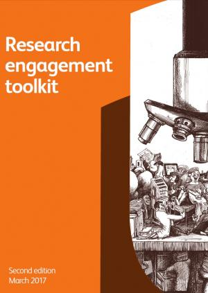 Research engagement toolkit front cover