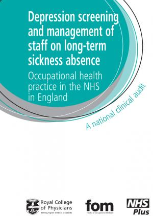 Long-term sickness absence and depression detection 2009 – round 1