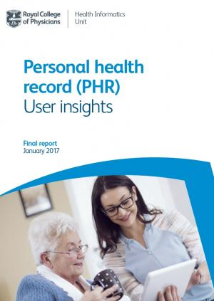PHR insights report