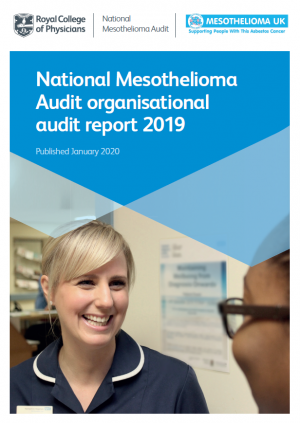 National medothelioma audit report front cover