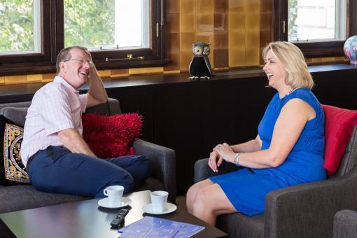 Professor Andrew Goddard and Professor Helen Stokes-Lampard
