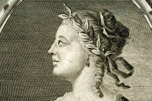 A portrait of Laura Maria Catarina Bassi, 18th century scientist