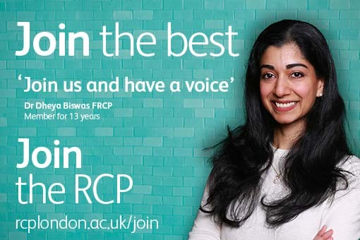Quote from a member of the RCP: 'As a member you're part of the community'