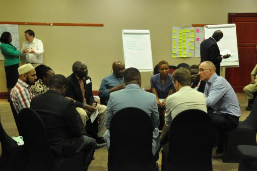 Educational Leaders' course in Lusaka, May 2017
