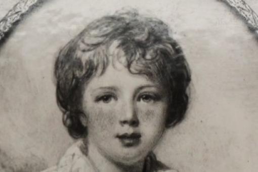 A portrait of Sir Augustus Frederick D'Esté as a boy