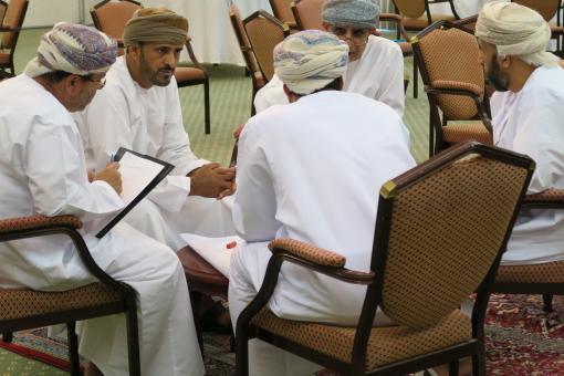 Higher level interview skills workshop, Oman