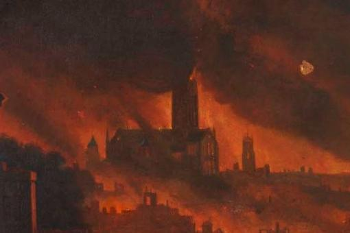 A Miserable Calamitous Speectacle Witnessing The Great Fire Of